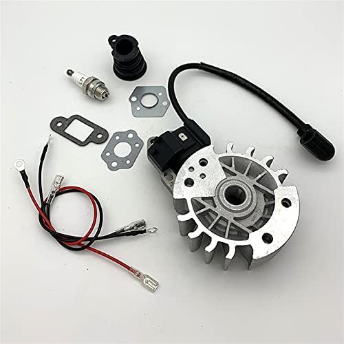 HCO-YU Ignition Bobhool Flywheel Manifold MADUSA DE Gas Piezas DE Recambio Ajuste para STIHL MS230 023 MS250 025 Motor Bobina Módulo