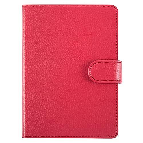 QiuKui Tab Custodie per Sony PRS T2, ereader, Chiusura Magnetica PU Pelle Protettiva in Pelle Custodia per la Copertura della Pelle per Sony Ebook PRS-T2 (Colore : Red)