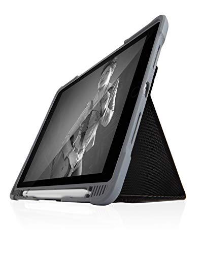STM Dux Folio - Funda para Tabletas Apple iPad 5th Gen, 313 g, Negro Transparente