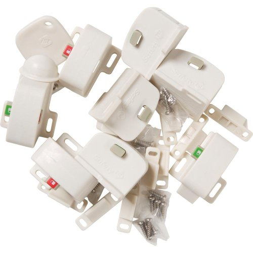 Safety 1st Magnetic Locking System (1 Key and 8 Locks)