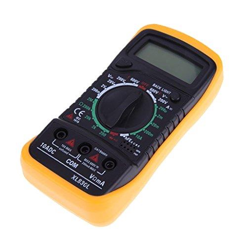 Multímetro Eléctrico Medidor Probador Digital Tensión Circuito XL830L AC DC OHM