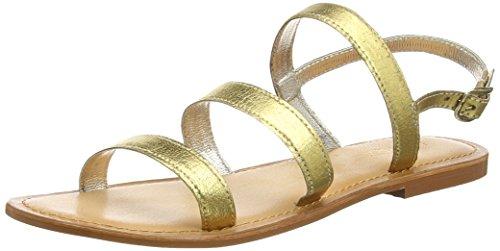 Tantra Strap Sandals - Sandalias para Mujer, Color Dorado, Talla 36