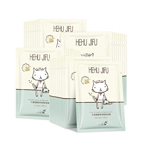 Onkessy Make Up Remover Wet Wipes Skin Cleansing Facial Wipes Portable Enzyme Deep Cleansing Facial Wipes