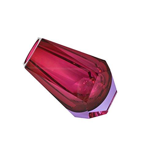 Moser Vase Pear Pink