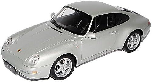 AUTOart Porsche 911 993 Carrera Coupe Silber 1993-1998 78131 1 18 Modell Auto