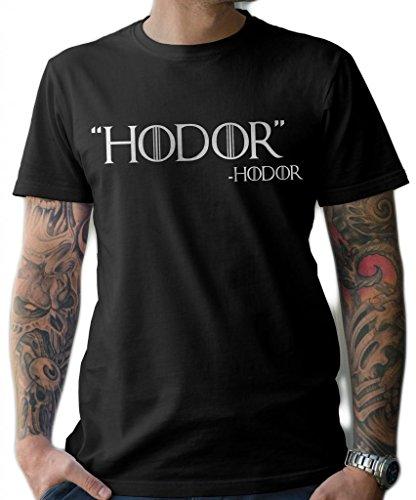 lerage camisas de hombre Hodor Quote | Juego de Tronos T-Shirt...