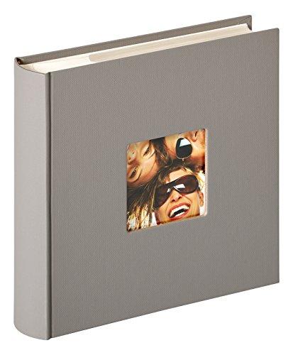 Walther Álbum de Fotos, diseño Fun, 200 Fotos, Gris, 200 Fotos 10 x 15 cm