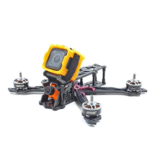 Usmile 3D-Printed TPU Camera Mount Protective case for Gopro Session Micro Carbon Fiber FPV Racing Quad Quadcopter Drone Frame (for Session)