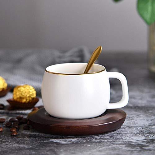 Copa De Vino Creative Europe And America Coffee Cup Dish Spoon Juego...