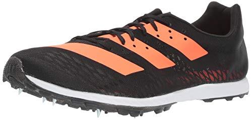 adidas Damen Adizero XC Sprint W Laufschuh, Core Black/Solar Orange/FTWR White, 44 EU
