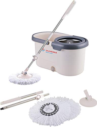 Duverra Stainless Steel Spinner Bucket Spin Mop