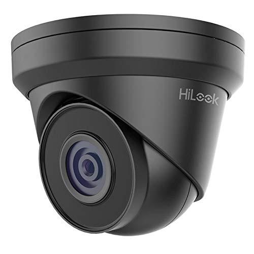 HiLook IPC-T221H (2,8 mm) 1080p Torreta PoE cámara de Red con visión Nocturna de 30 m IP67 Impermeable alimentación sobre Ethernet PoE -Gris