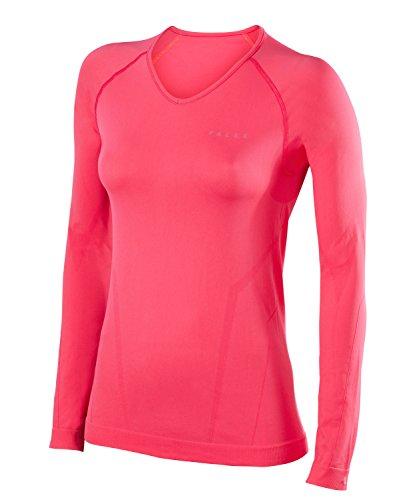 FALKE Warm Comfort Fit W L/S SH Couche de base supérieure Femme, Rose (Rose 8564), L