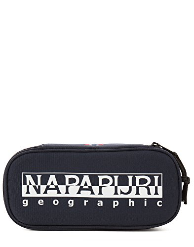 Napapijri Happy Pen Organizer Federmäppchen, 22 cm, Blu Marine