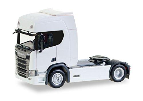 herpa 307185 - Fahrzeug, Scania CR20 HD Zugmaschine, weiß