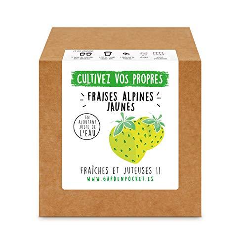 Garden Pocket - Kit de Culture de FRAISES JAUNES