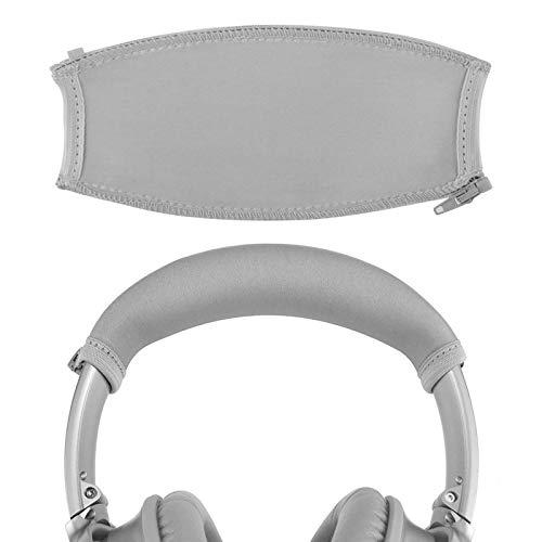 Geekria Headband Cover Compatible with Bose QuietComfort QC35 II Gaming, QC35, QC 35 Headphones/Headband Protector/Headband Cushion/Easy DIY Installation No Tool Needed (Silver)