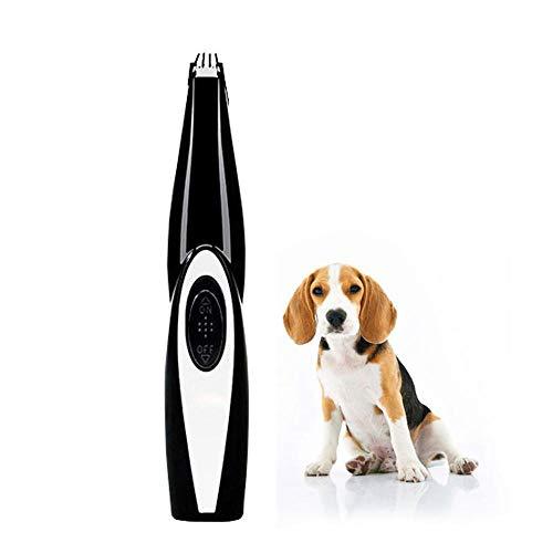 Fewao Cortapelos para Perros,Cortapelos para Mascotas Diseño Inalámbrico USB Recargable de bajo...