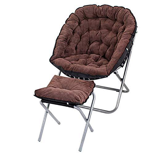 Xiao Jian- Chaise pliante - Chaise canapé paresseux Canapé simple Balcon Salon Petit canapé-fauteuil Chaise longue (Couleur : E)