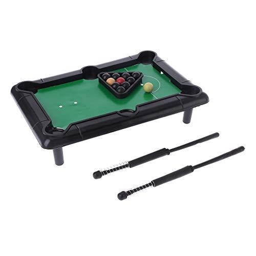 MiSha Mini-Desktop-Billardtisch Billardtisch Billardkugeln kleine Desktop-Pool-Spaß-Spiel
