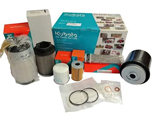 Wallentin & Partner | Kubota Bagger Filter-Kit für Kubota Bagger KX36-3 / KW41-3 | Kubota Bagger Filter-Set