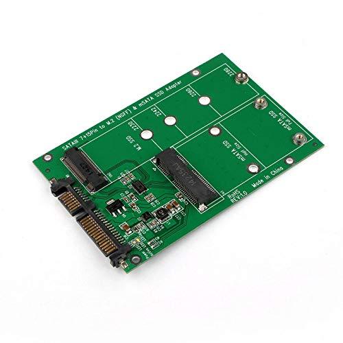 Combo PCB Mini PCI-E 2-way M.2 e mSATA SSD su PCB PCB SATA 3.0