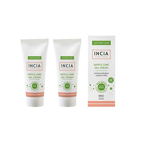 INCIA Nipple Care Barrier Cream With Shea Butter To Protect And Hydrate Skin. Contains Vitamin E 2 x 30 ml