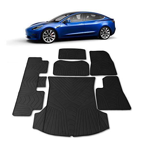 #1 Tesla Model 3 Floor & Trunk Mats - All Weather...