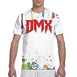 huatongxin 90s clásico Hombres Actor DMX Logo Deportes Fres