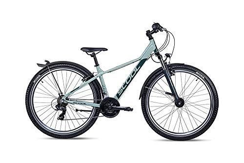 S'Cool troX EVO Alloy 27.5R 21S Jugend Mountain Bike (RH 45 cm / 27,5 Zoll, Grün)