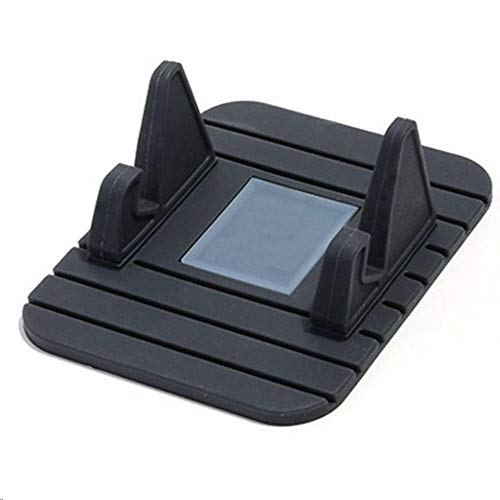 Besthomelife スマートフォンホルダー スマホスタンド 車載ホルダー 簡単取り付け スマホスタンド ダッシュボード 滑り止め 水洗い可 (黑)