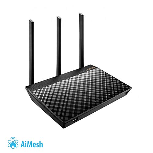 ASUS RT-AC66U - Router inalámbrico AC1750 Dual-band
