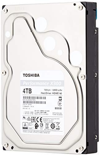 Toshiba X300 4TB 7200RPM 128MB 3.5' SATA