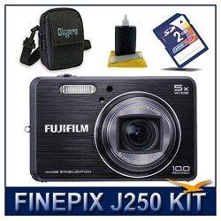Fujifilm FinePix J250 Digital Camera Black, 10...