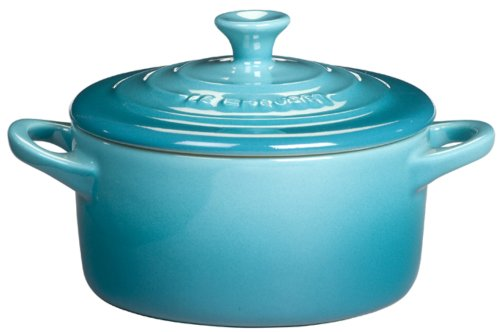 Mini Caçarola, Le Creuset, 91005000, Azul Caribe