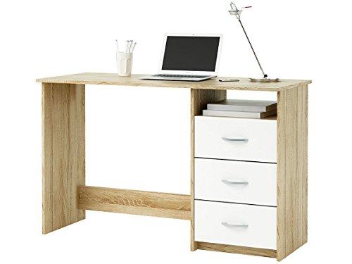 möbelando Schreibtisch Arbeitstisch Computertisch Kinderschreibtisch Tisch Büro