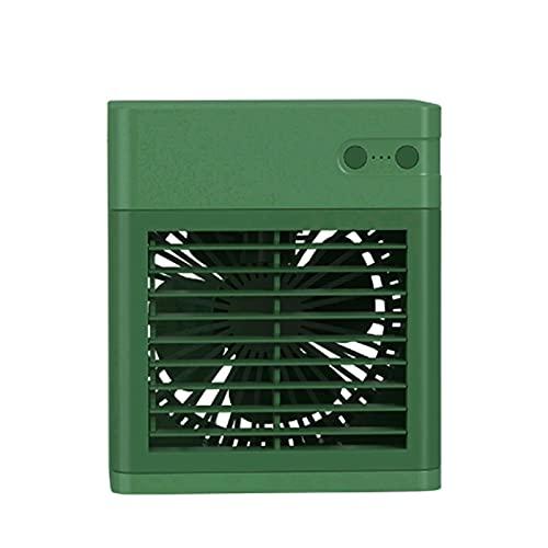 GLF Mini refrigeratore Portatile condizionatore con Ventilatore 3 in 1 Raffrescatore Evaporativo USB Ricaricabile Elettrico di Raffreddamento Aria condizionata umidificatore, per L Ufficio Domestico