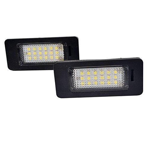 2x LED Kennzeichenbeleuchtung E90 E71 E70 E60 E39 Kennzeichen Licht 6000K Xenon Weiß Canbus Kein Fehler