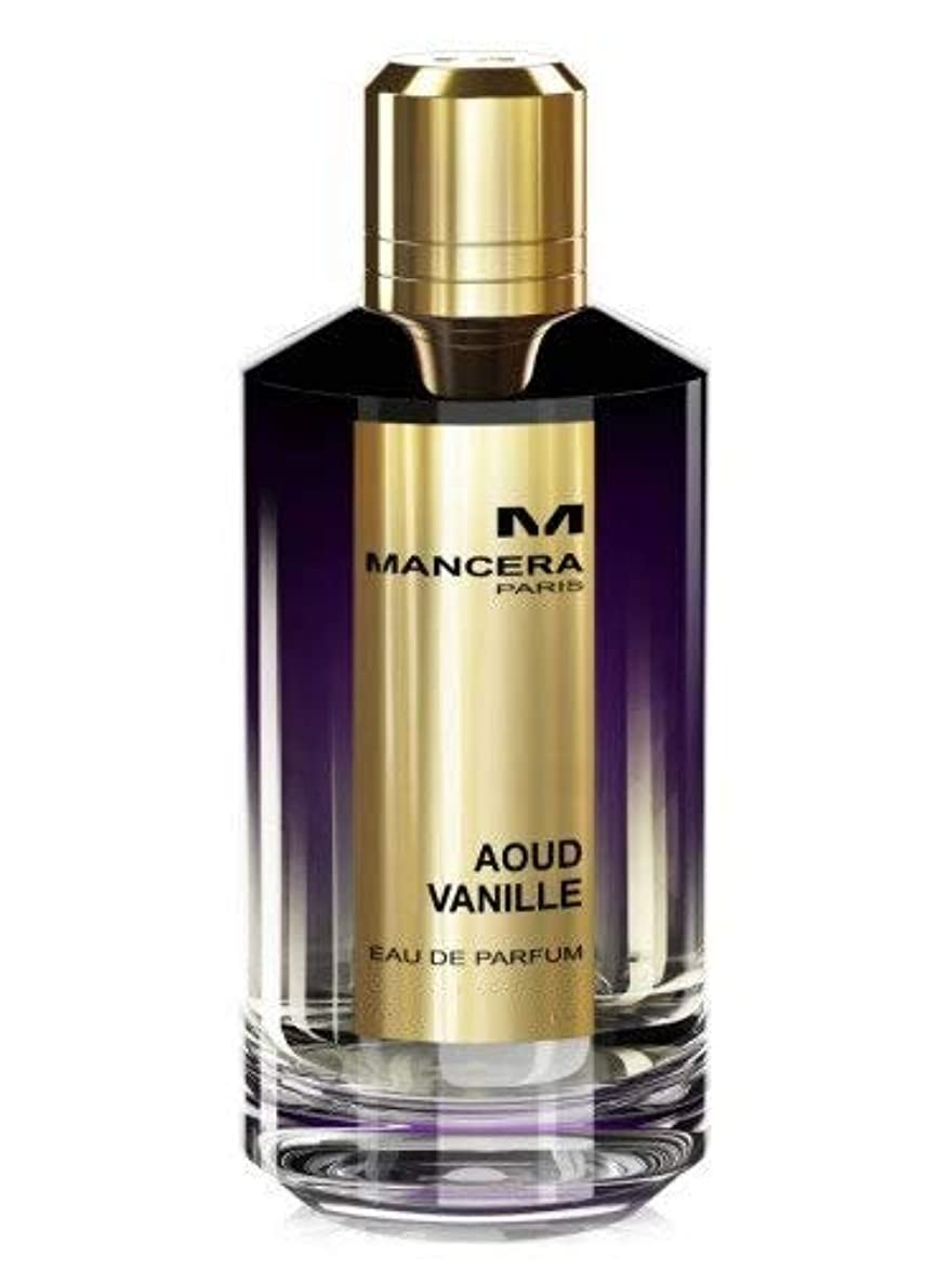 パブ置くためにパックエレメンタルMancera Aoud Vanille Eau de Parfum 2.1 oz./60 ml New in Box