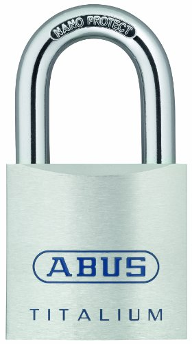 ABUS 80TI/50 KD Titalium Aluminum Alloy Padlock Keyed Different