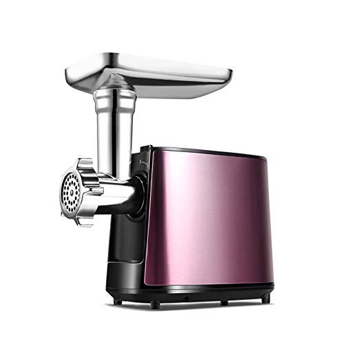 WZHZJ Elettrico Tritacarne Elettrico in Acciaio Inox Grinder Salsiccia Stuffer Tritacarne Affettatrice for Kitchen Appliance
