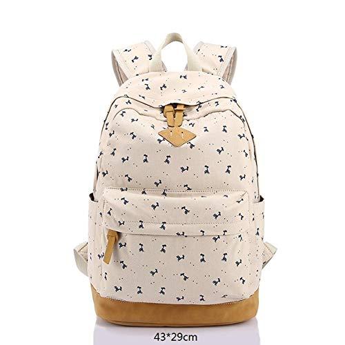 Jejhmy Mini Fawn, C, laptoptas schoudertas wandeltas tiener vrije tijd school rugzak