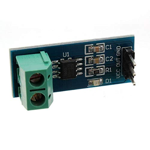 Ywzhushengmaoyi ACS712TELC-05B 5A Module Current Sensor Module Geekcreit for A-r-d-u-i-n-o - products that work with official A-r-d-u-i-n-o boards 5Pcs Electronics Module Parts