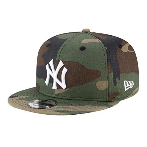 New Era Mens New York Yankees Camouflage WDC 9Fifty Adjustable Snapback 950 Cap