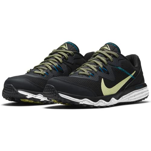 Nike Wmns Juniper Trail, Running Donna, off Noir Limelight Black Laser Blue, 42 EU