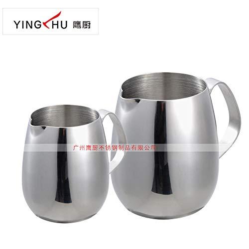 XSY Edelstahl milchkännchen Edelstahl Trommel milchkännchen Edelstahl Pull Cup Edelstahl ausgefallene kaffeetasse kreative milchkännchen trompete