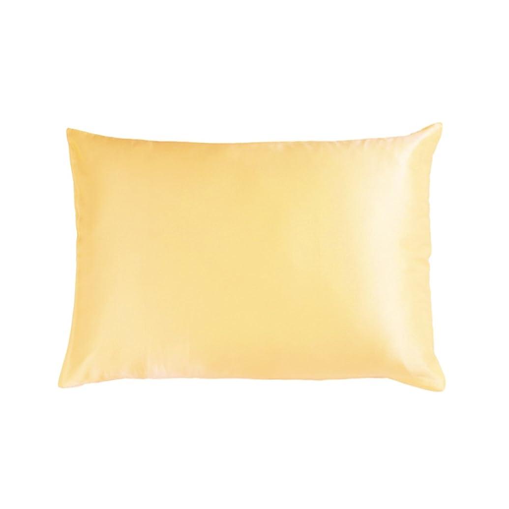 不名誉な近く援助するシルク枕カバー 絹 100 子供用 35X50cm まくらカバー 洗濯|19匁天然ピローケース 静電気を防ぐ |ゴールド