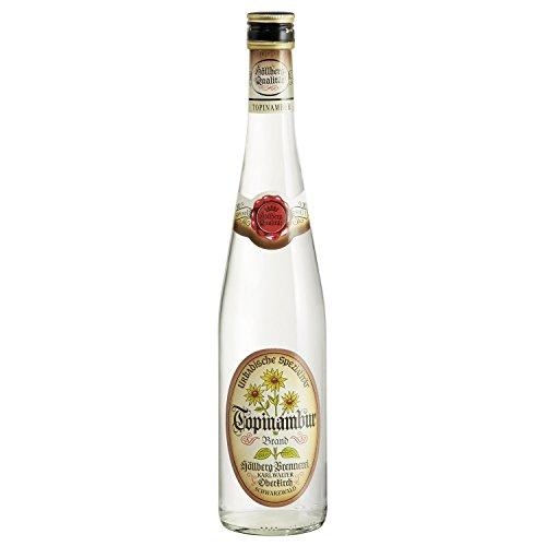 Original Topinambur Höllberg 40% vol, (1 x 0,7 Liter) edler Brand ohne Aromastoffe | Premium Brand | Edelbrand aus Familienbrennerei