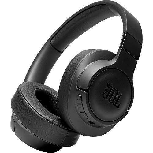JBL Tune 700BT Over-Ear Kopfhörer in Schwarz - Kabellose Bluetooth Ohrhörer mit 27 Stunden Akkulaufzeit - Musik Streaming und telefonieren unterwegs