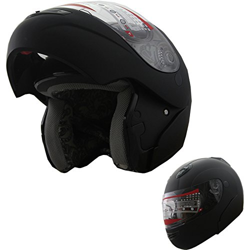 Motorcycle Helmet Modular Snowmobile Anti Fog
